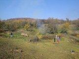 Fotografie z r.2011  (brigáda u požární nádrže v Libovicích)